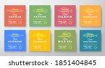 fresh fillets premium quality... | Shutterstock .eps vector #1851404845