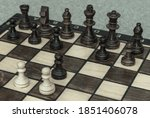 The Queen's Gambit Chess Move...