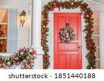 Christmas Porch Decoration Idea....