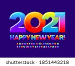 vector sweet greeting card... | Shutterstock .eps vector #1851443218