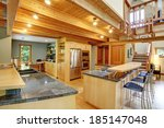 View Of Shiny Kitchen With...
