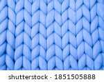 Knitted Background. Knitted...