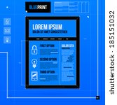 web site template in blueprint...
