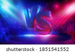 battle vs match  game concept... | Shutterstock .eps vector #1851541552