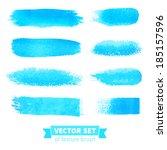 vector collection of texture... | Shutterstock .eps vector #185157596