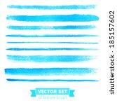 vector collection of texture... | Shutterstock .eps vector #185157602