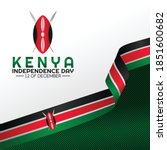 Kenya Independence Day Vector...