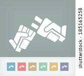 plug concept   Shutterstock .eps vector #185165258