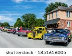 Show Of Classic Cars Of...