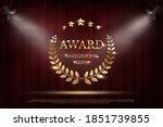 award nomination emblem  stage... | Shutterstock .eps vector #1851739855