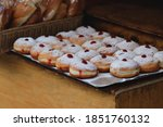 Sufganiyot For Sale At The...