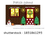 education patch game christmas... | Shutterstock .eps vector #1851861295
