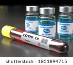 Small photo of GERMANY - NOV, 10, 2020: Covid vaccine jointly developed by Pfizer and BioNTech was found to be effective in preventing 90 percent of Covid-19 Coronavirus infections