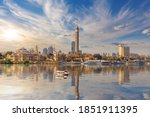 Tv Tower And Cairo Downtown On...