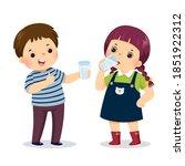 vector illustration cartoon of... | Shutterstock .eps vector #1851922312