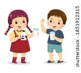 vector illustration cartoon of... | Shutterstock .eps vector #1851922315