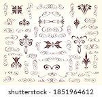 set of vintage elements...   Shutterstock .eps vector #1851964612