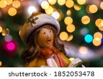 Woman Figurine In Light Colore...