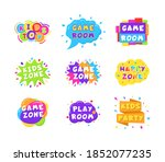 colorful logos. subscription... | Shutterstock .eps vector #1852077235