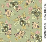 bright seamless pattern with... | Shutterstock .eps vector #1852108642