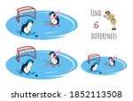 find 6 differences. educational ... | Shutterstock . vector #1852113508