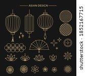 Set Of Asian Design Element....