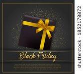 black friday sale inscription... | Shutterstock .eps vector #1852178872