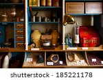 Interior Of Vintage Grocery...