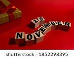 November 19 On Wooden Cubes ...