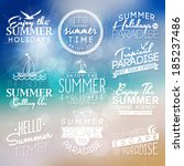 background with labels for... | Shutterstock .eps vector #185237486