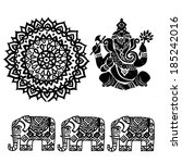 Set Of Ornamental Indian...