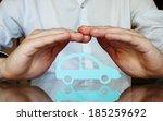 car insurance concept | Shutterstock . vector #185259692