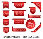 tag price. sale bookmark.... | Shutterstock .eps vector #1852652638