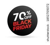 Black Friday Sale Icon  Sticker ...