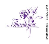 thank you | Shutterstock . vector #185273345