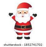 santa claus cartoon... | Shutterstock .eps vector #1852741702