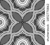 seamless pattern with floral... | Shutterstock . vector #1852770862