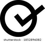 check mark icon. tick symbol in ...