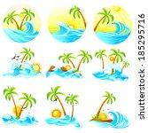 easy to edit vector... | Shutterstock .eps vector #185295716