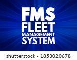 fms   fleet management system...   Shutterstock . vector #1853020678