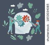 cartoon vector illustration of... | Shutterstock .eps vector #1853034085