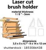 laser cutting design laser cut...   Shutterstock .eps vector #1853086438