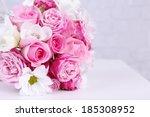 Beautiful Wedding Bouquet On...