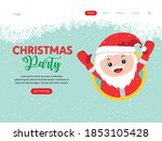 web landing page template for... | Shutterstock .eps vector #1853105428
