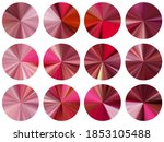 rose gold circular metallic... | Shutterstock .eps vector #1853105488