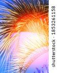 retro photo beautiful color... | Shutterstock . vector #1853261158