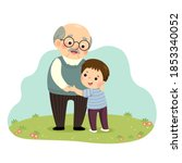 vector illustration cartoon of... | Shutterstock .eps vector #1853340052