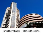 Small photo of Mumbai; Maharashtra; India; Asia; May; 30; 2008 : The Bombay Stock Exchange (BSE) is an Indian stock exchange located at Dalal Street; Kala Ghoda; Mumbai (formerly Bombay)