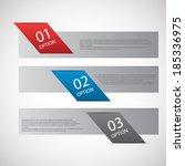 modern design template  ... | Shutterstock .eps vector #185336975