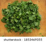 Parsley. Finely Chopped...